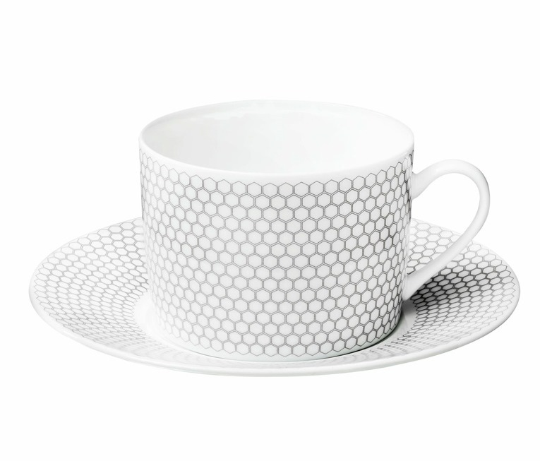 5a2c0f9604 Christofle Madison 6 DinnerwareTea / Coffee Cup & Saucer - Set 2