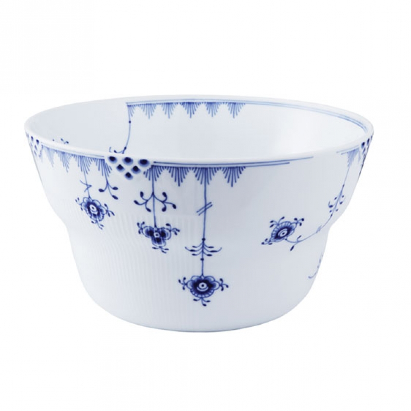 royal copenhagen blue elements large salad bowl. Black Bedroom Furniture Sets. Home Design Ideas