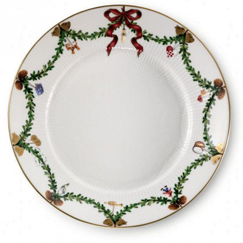 Royal Copenhagen Star Fluted Christmas