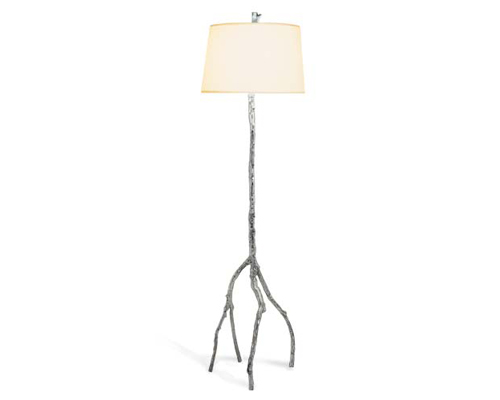 Michael Aram Enchanted Forest Floor Lamp Polished