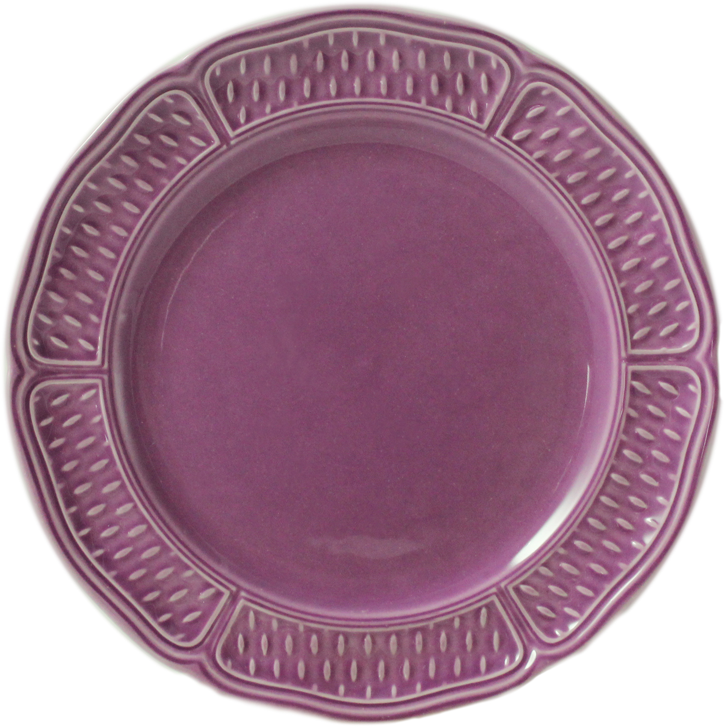 Gien pont aux choux amethyste canape plate for What are canape plates