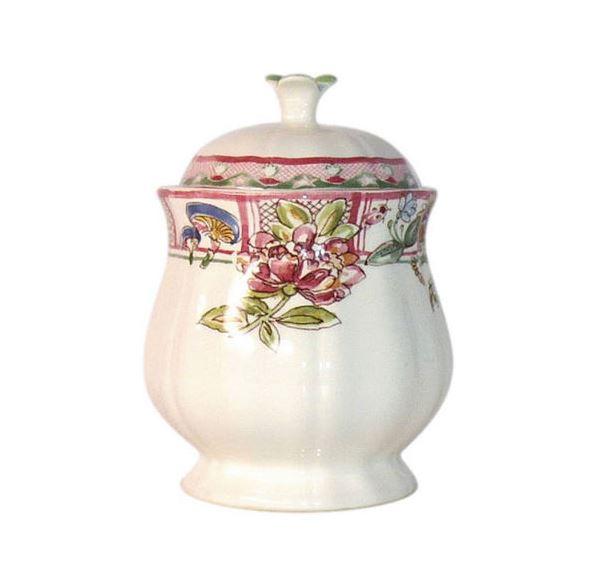 Gien Jardin Imaginaire Sugar Bowl