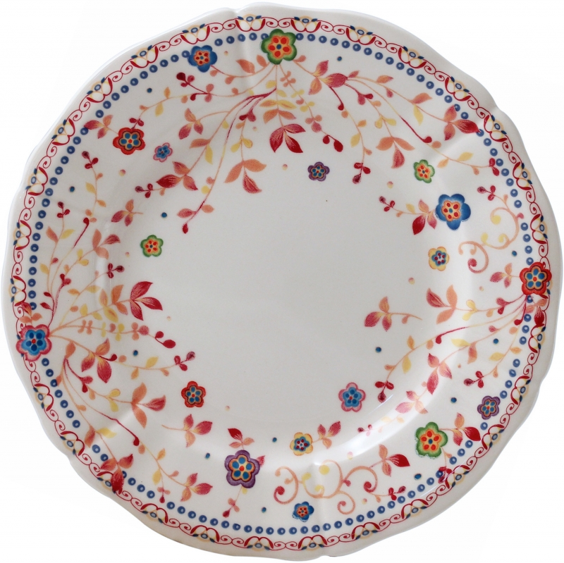 Gien colette canape plate for What is a canape plate