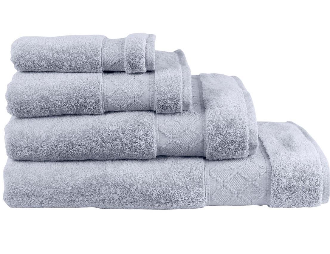 Le Jacquard Francais Caresse Cloud GreyBath Sheet fe1bbc590