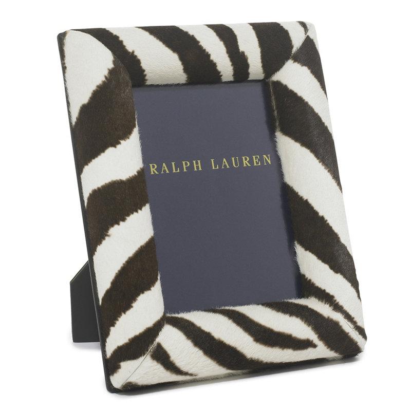 Ralph Lauren Chatwin Frames Zebra Frame 10 X 13