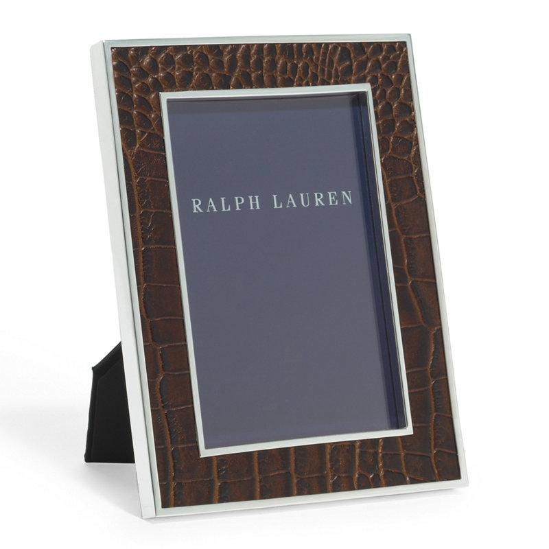 Ralph Lauren Chapman Frame - 8 X 10 Chocolate Brown