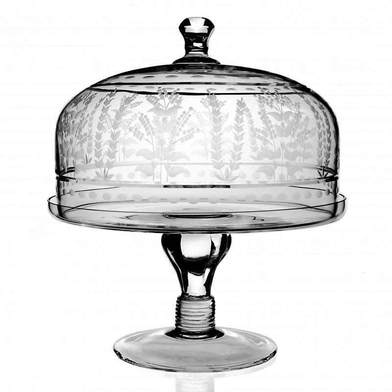 William Yeoward Portia Cake Stand u0026 Dome ...  sc 1 st  FX Dougherty & William Yeoward Portia Cake Stand u0026 Dome
