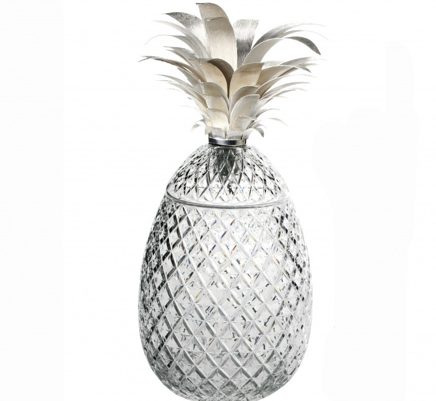 William yeoward isadora silver pineapple centerpiece quot