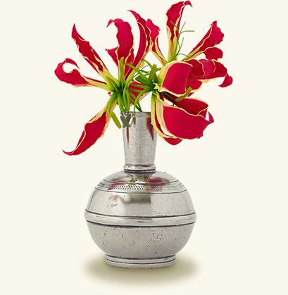 Match Pewter Bud Vase