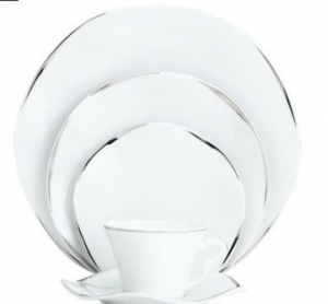 Etincelle Platine Bread and Butter Plate