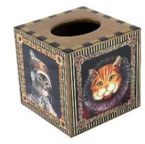 Annie Modica Cats Tissue Box