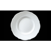 Museo White Salad Plate