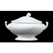 Museo White Oval tureen w/cover