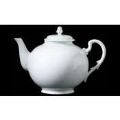 Museo White Teapot w/ Cover