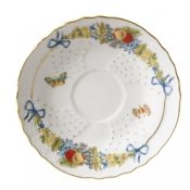 Farfalle Fiorite Large Afterdinner Coffee Saucer
