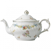 Farfalle Fiorite Large Teapot w/cover