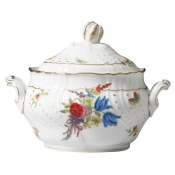 Farfalle Fiorite Large Tea Sugarbowl w/cover