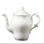 Vecchio Ginori White Coffee Pot w/Cover 30 oz.