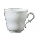 Vecchio Ginori White After Dinner Coffee Cup - 4 oz.