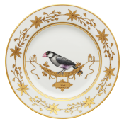Voliere Padda - Dinner Plate - 10.5""