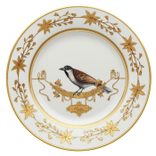 Voliere Ortolan - Dinner Plate - 10.5""