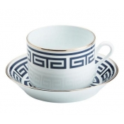 Labirinto Blue Tea Saucer