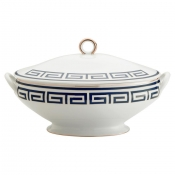Labirinto Blue Oval Tureen w/Cover