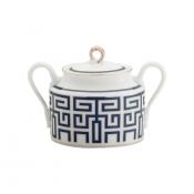 Labirinto Blue Sugar Bowl & Cover