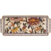 Pivoines Oblong Serving Tray