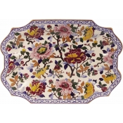Pivoines Soup Tureen Tray ( tray only )