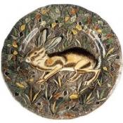 Rambouillet Dinner Plate Hare