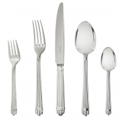Christofle Aria Sterling 5 Piece Setting