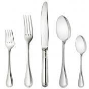 Christofle Malmaison Sterling Silver 5- Piece Place Setting