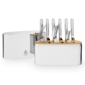 Christofle Concorde Stainless Flatware Set