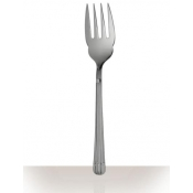 Christofle Osiris Stainless Serving Fork - Large