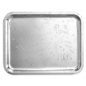 Christofle Graffiti Rectangular Tray - 19 2/7 x 15 1/3