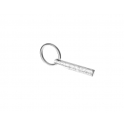 Christofle Graffiti Key Chain Fob