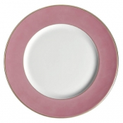 Richard Ginori Charger - Romantic Pink w/ Gold