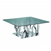 Christofle Arborescence Square Coffee Table