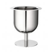 Christofle Radius Stainless Champagne Cooler