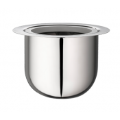 Christofle Radius Stainless Isothermic Ice Bucket