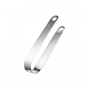 Christofle Radius Stainless Ice Tongs