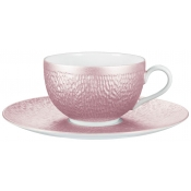Raynaud Mineral Irise Pink Tea Cup - 7.4 oz.