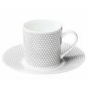 Madison 6  Demi -Tasse Cup & Saucer - Set / 6