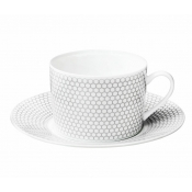 Madison 6  Tea / Coffee Cup & Saucer - Set 2