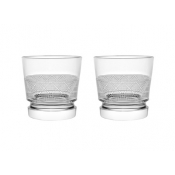 Christofle Jardin D'Eden Old Fashion Glass - Set 2