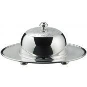 L'Insolent Butter Dish On Tray & Cover