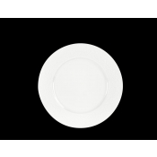 Provence White Diamond Dinner Plate