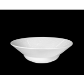 Provence White Diamond Salad Serving Bowl