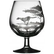 Varga Safari Brandy Snifter Cheetah